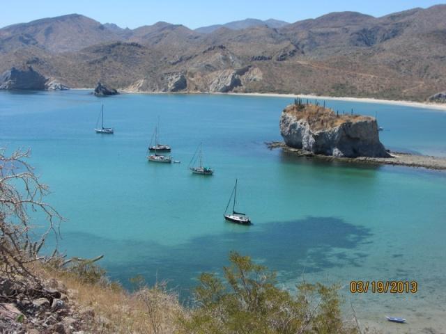 Anchored at San Juanico.