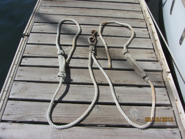snubbing harness