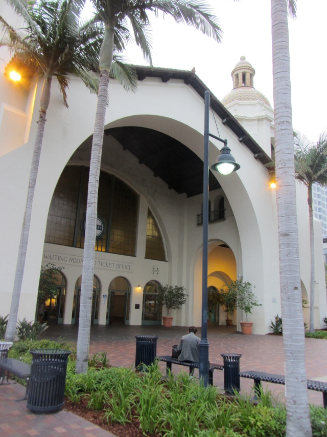 Santa Fe Station, San Diego California