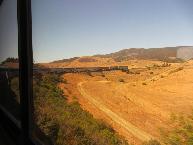 The hills behind San Luis Obispo.