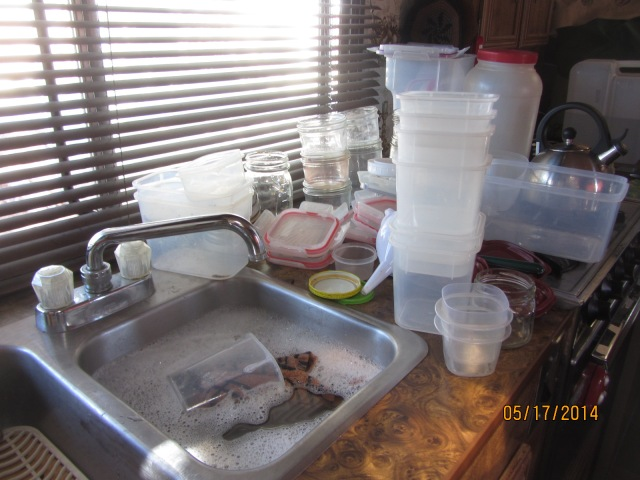 That's a lot of dirty dishes!