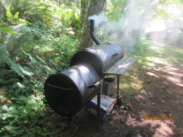 Now we're cooking with smoke!